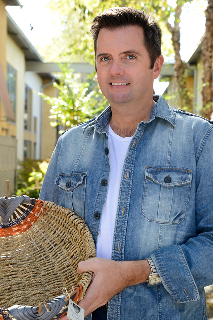 Derek Downing creator of DesignerBaskets