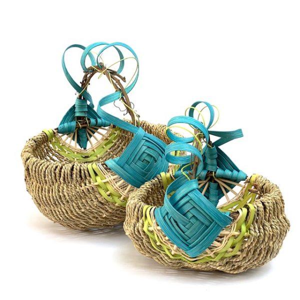 Grapevine Handle Basket