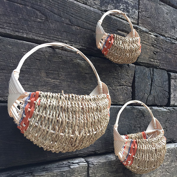 Half Basket – Chestnut/Gray