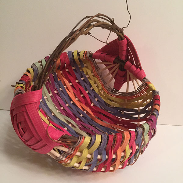 Rainbow Basket Small – Bright Hues